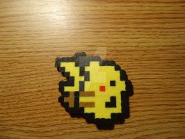 Pixel Pikachu by PixelsandStitches