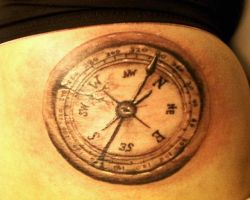 compass by TwoToneTattoo