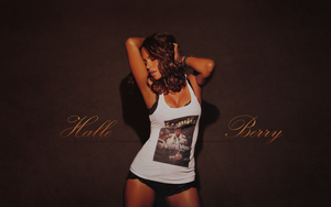 Halle Berry Wall by Mirix10