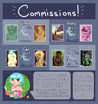 Commission Info! by oddsocket