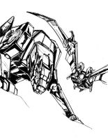 Ravage and Ratbat--drawing by marble-v
