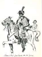 French Chasseur a cheval of the Guard 1812 by Stcyr74