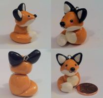 Fox charm by CemeteryDrive87