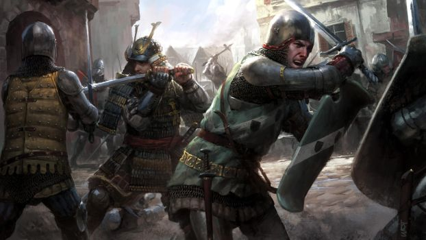 Freelancers - Against the Germans by wraithdt