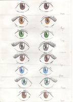 The Seven's eyes  - Plus Reyna by LilianNogueira