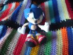 My Mini-Sonic Plush by LouisEugenioJR
