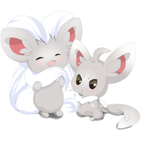 Minccino and Cinccino by juli3e