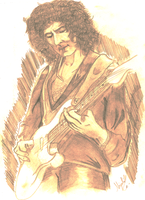 Ritchie Blackmore Speed sketching by TonySabbath666