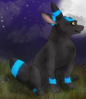 umbreon shiny by sexy-seductress-wolf
