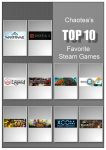 Top 10 favorite steam games by chaotea