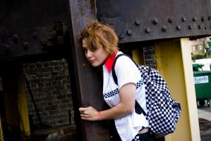 Roxas cosplayed by gabbie by nokel