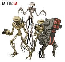 Battle Los Angeles by ikura-maru