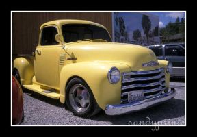 Yellow chevrolet by sandyprints