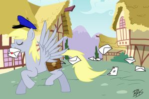 Derpy Hooves - Ponyville Mailmare by Sheason