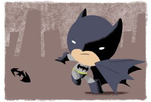 Batman: Bubblehead by JeffVictor
