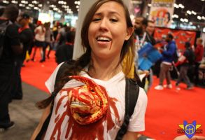 Chestburster Cosplay - NYCC 2013 by ConMenWebSeries