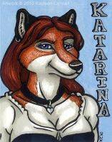 Kat Badge 5 by katarina