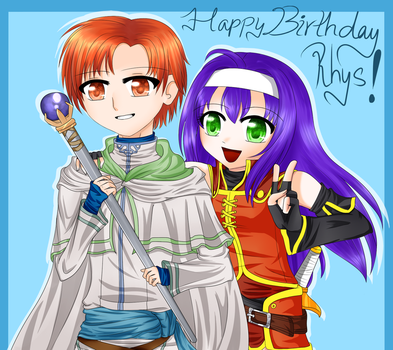 Happy late birthday, Rhys~! by Ask--Mia