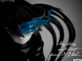Black Rock Shooter Figure by Adurnah