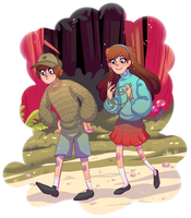 Mystery twins!! by mustachossom