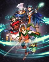 Shining Force 2 by Bisart