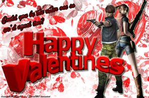 Claire Redfield and Steve Burnside - Valentines 2 by Claire0267