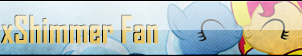 Fan Button: TrixShimmer Fan by SilverRomance