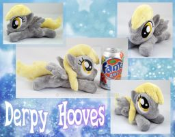 Mini Derpy Hooves Plush by TheHarley