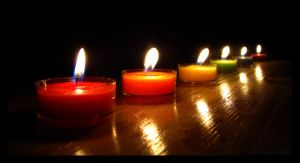 Candles by Saphiroko