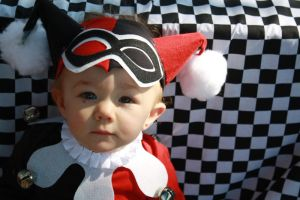 Baby Harley Quinn Cosplay by cimmerianwillow