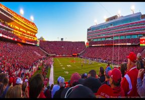 Memorial Stadium Nation by FramedByNature