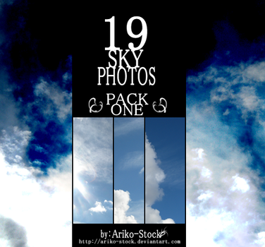 Sky Photo Bundle Pack 01 by Ariko-Stock