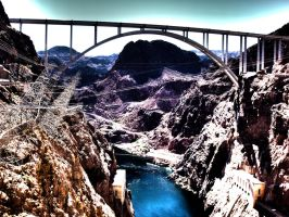 Hoover Dam - Beyond the Dam by Renzbenz