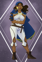 Isabela the Pirate Queen by river-bird