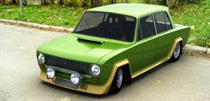 VAZ 2101 Street Racer by Sqwall