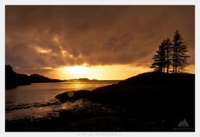 Sunset at Lochinver, Scotland by IntoCircles