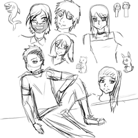 TDI - Random Sketches by Feht