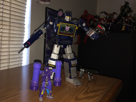 Power Rangers Toy Collection 040: Soundwave by AnutDraws
