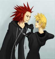 AkuRoku-I like it like it by FluffySquirrel