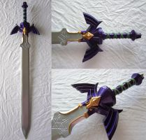 Twilight Princess Master Sword - Painted by Rinkujutsu