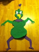 Instant Martian Wall Hanging-Type-Thing by PaperFox74