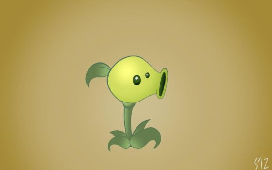 PVZ: Pea Shooter  by Zahuranecs
