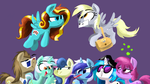 KP Background Ponies video thumbnail by TalonsofIceandFire