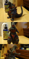 Semi Failed Custom - Burning Godzilla 54' by SpaceG92