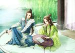 Hsiao and Yi by eightsound