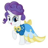 Rarity Vector by Clawzipan