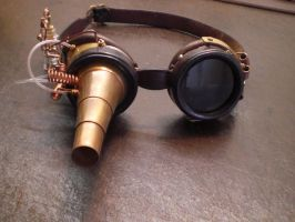 Steampunk Goggel 2-2 by Leder-Joe