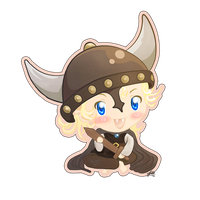 Eric Viking Chibi by Tildhanor