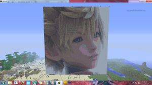 Ventus Minecraft portrait by imspiritb