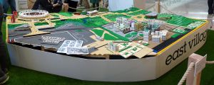 East Village, Stratford...in Lego by ggeudraco